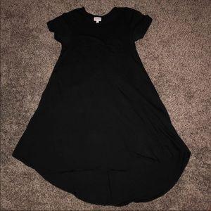 Solid Black LuLaRoe XXS Carly **UNICORN**